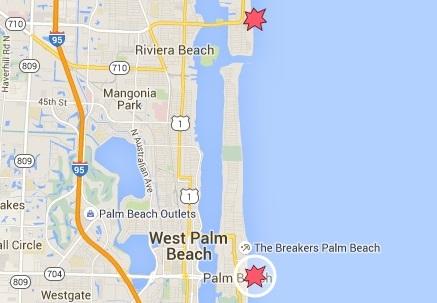 Sarah_Rose_palm_beach_shark_bite_location_2