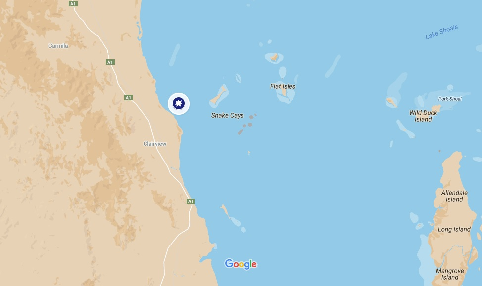 Flaggy Rock_Queensland_shark_attack_bite_Location