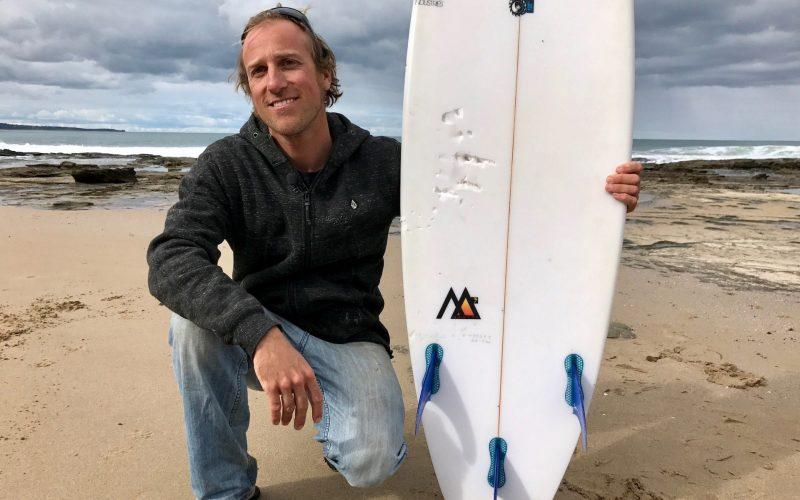 2017 shark attack bite_Marcel Brundler Cathedral Rock Australia_3