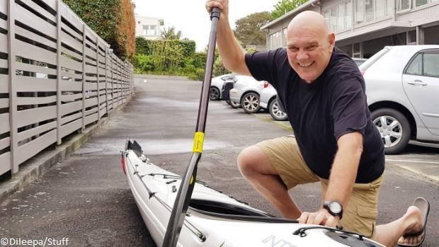 david lomas shark attack new zealand