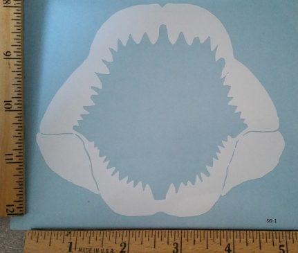 Shark Jaws (SG-1) window decal