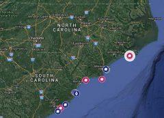 14-year-old surfer bitten by a shark in North Carolina