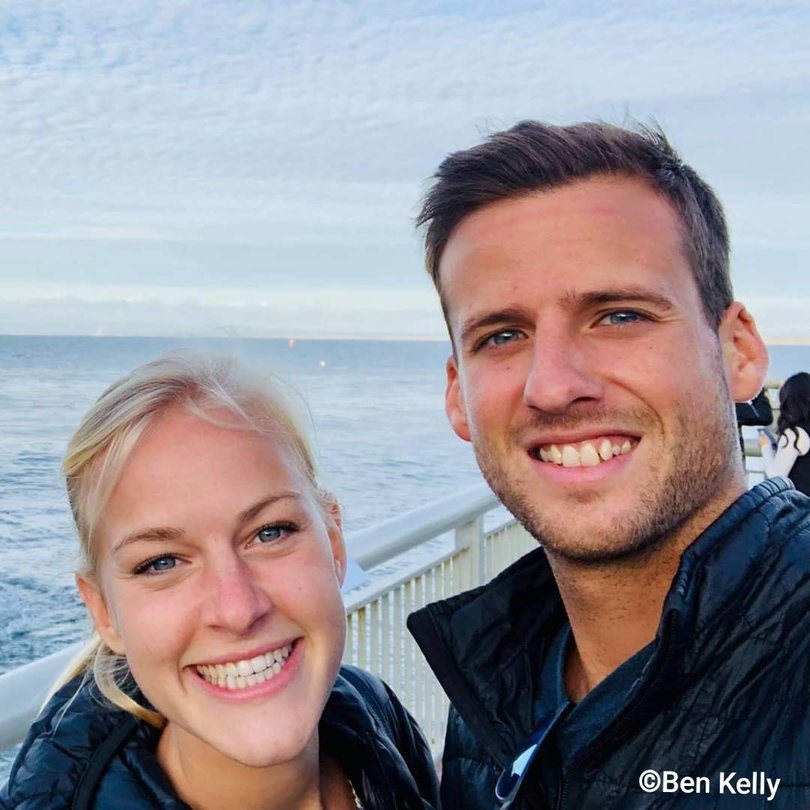 Ben Kelly was killed during a shark attack in California.